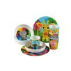 Jungle Kids16 Piece Dinnerware Set