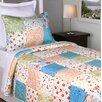 Jovi Home Flower Garden Patchwork Quilt Set