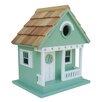 Home Bazaar Beachcomber Sand Dollar Cottage Hanging Birdhouse