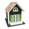 <strong>Home Bazaar</strong> Classic Series Heart Cottage Birdhouse