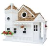 Home Bazaar Classic Series Sea Cliff Cottage Free Standing Birdhouse