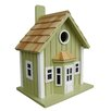 <strong>Home Bazaar</strong> Fledgling Series Parkside Cottage Mounted Birdhouse