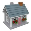 Home Bazaar Fledgling Series Vineyard Cottage Mounted Birdhouse