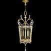Fine Art Lamps Beveled Arcs Gold 5 Light Foyer Pendant