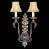 <strong>Fine Art Lamps</strong> Stile Bellagio 2 Light Wall Sconce
