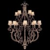 <strong>Fine Art Lamps</strong> Stile Bellagio 15 Light Chandelier