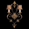 <strong>Fine Art Lamps</strong> Castile 2 Light Wall Sconce