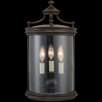 <strong>Fine Art Lamps</strong> Louvre 3 Light Outdoor Wall Lantern