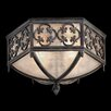 <strong>Fine Art Lamps</strong> Costa Del Sol 2 Light Outdoor Flush Mount