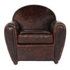 <strong>Lazzaro Leather</strong> Arm Chair