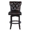 <strong>Lazzaro Leather</strong> Swivel Bar Stool
