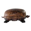 <strong>Turtle Ottoman</strong> by Lazzaro Leather