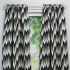 <strong>Coram Ebony Curtain Single Panel</strong> by Chooty & Co