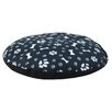 Chooty & Co Fleece Dog Paw and Bone Round Pet Bed