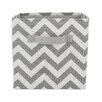 Chooty & Co Zig Zag Storage Bin with Handle
