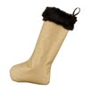 Chooty & Co Taline Fur Trim Christmas Stocking