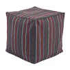 Chooty & Co Multi Stripe KE Zippered Beads Footstool