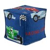Chooty & Co Racing Cars Seamed Zippered Beads Footstool