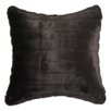 Chooty & Co Auden Fur Simply Soft Self Backed Fiber Knife Edge Pillow