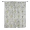 <strong>Chooty & Co</strong> Chatsworth Standard Cut Cotton Shower Curtain