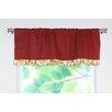 """Chooty & Co Circa Solid Rod Pocket Ruffled 54"""" Curtain Valance"""