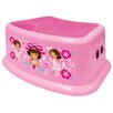 <strong>Nickelodeon Dora the Explorer Step Stool</strong> by Ginsey