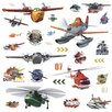 Room Mates Popular Characters Planes Fire and Rescue Peel and Stick Wall Decal