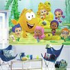 Room Mates Prepasted Bubble Guppies XL Chair Rail Ultra Strippable Wall Decals