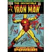 <strong>Room Mates</strong> Iron Man Comic Book Cover Wall Decal