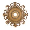 "<strong>Napoli 38"" Ceiling Medallion in Tuscan Patina</strong> by Minka Aire"
