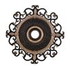 "<strong>Minka Aire</strong> Napoli 38"" Ceiling Medallion in Sterling Walnut"