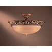 <strong>Minka Lavery</strong> Salon Grand 3 Light Semi Flush Mount