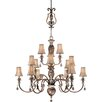 Minka Lavery Aston Court Fifteen Light Chandelier with Optional Ceiling Medallion