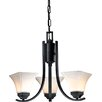 <strong>Agilis 3 Light Mini Chandelier</strong> by Minka Lavery