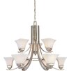 <strong>Minka Lavery</strong> Agilis 9 Light Chandelier