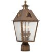 Minka Lavery Edenshire 3 Light Outdoor Post Lantern