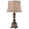 """Minka Lavery 1 Light 28.5"""" H Table Lamp with Bell Shade"""