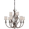 <strong>Minka Lavery</strong> Thorndale 9 Light Chandelier