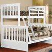 InRoom Designs Twin Over Full L-Shaped Bunk Bed