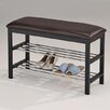 <strong>Upholstered Shoe Storage Bench</strong> by InRoom Designs