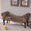 InRoom Designs Upholstered Bedroom Bench