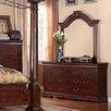 InRoom Designs 6 Drawer Dresser