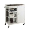 InRoom Designs Kitchen Island with Marble Top