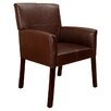 <strong>InRoom Designs</strong> Accent Leather Arm Chair