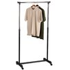 <strong>Household Essentials</strong> Storage and Organization Basic Adjustable Garment Rack in Chrome/Black