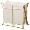 <strong>Household Essentials</strong> X Frame Double Hamper