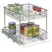 "<strong>Household Essentials</strong> Glidez 14.5"" Two Tier Sliding Organizer KD"