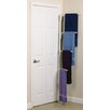 Household Essentials Hinge-It Clutterbuster Four Bar Valet in White
