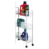 <strong>Household Essentials</strong> Slimline 3 Shelf Laundry Cart
