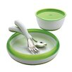 4 Piece Feeding Set in Green